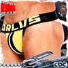 圖片 ORLVS彩色斑馬後空雙丁運動褲 後空 性感爆肌 猛男必備 JS0103
