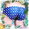 圖片 EUSSIEINQ  泡泡糖窄版三角男泳褲 SW0153