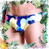 圖片 EUSSIEINQ  心花朵朵窄版三角男泳褲 SW0154