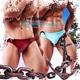 BRAVE PERSON  側繫純彩超低腰窄版三角男泳褲 激凸 性感 型男 狂潮 SW0015