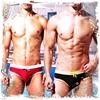 圖片 DESMIIT  古典學院派低腰塑型三角泳褲 低腰 線條 合身 SW0031