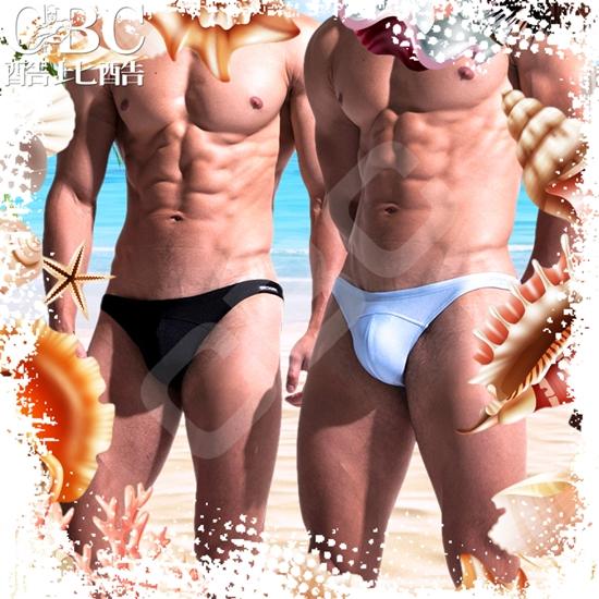 圖片 DESMIIT  嘉泰里納超低腰三角男泳褲 SW0011