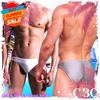 圖片 DESMIIT  彩虹扣索低腰三角泳褲 SW0028