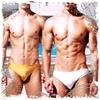 圖片 DESMIIT  海盜船珠光低腰三角泳褲 SW0030