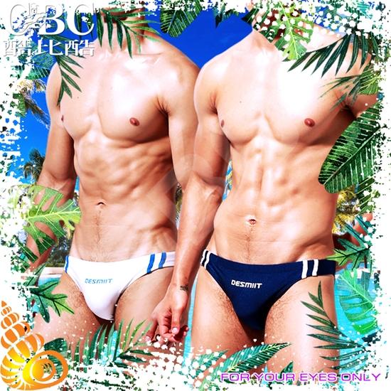 圖片 DESMIIT  暮光競速者低腰三角泳褲 SW0032