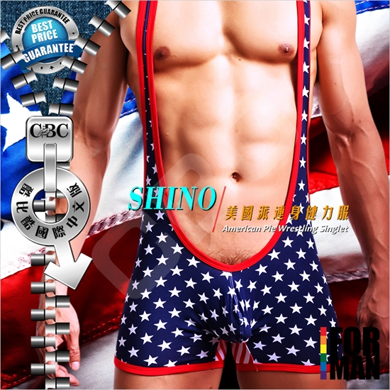 圖片 SHINO 美國派連身健力服SP0007