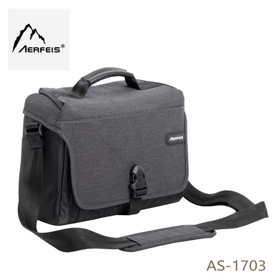 圖片 Aerfeis 阿爾飛斯 AS-1703 都市系列相機側背包
