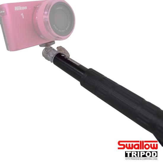 圖片 Swallow 自拍棒(含手機夾)-相機可用