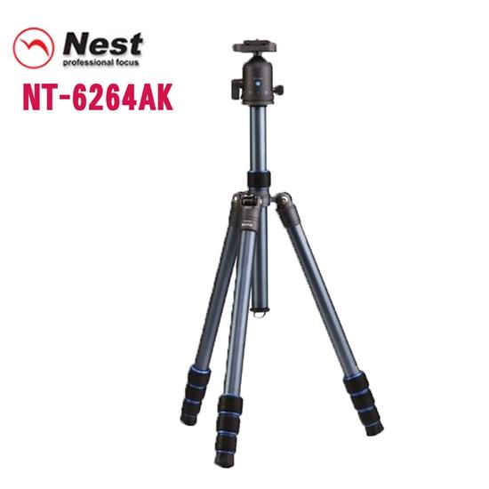 圖片 Nest NT-6264AK 四節反折式鋁合金腳架
