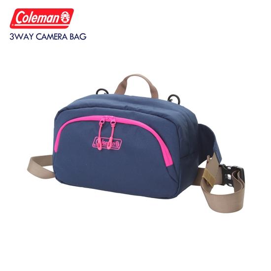 圖片 Coleman 三用相機背包(海軍藍)3 Way Camera Body Bag