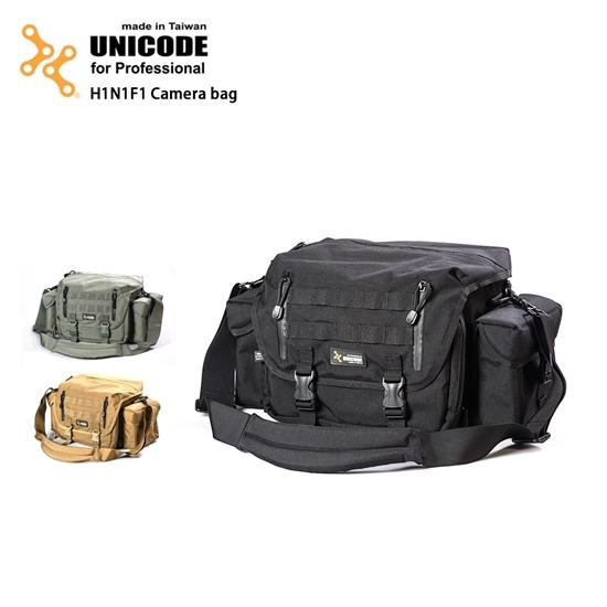 圖片 UNICODE H1N1F1 Camera bag 攝影包-基本款-多地型迷彩