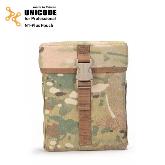 圖片 UNICODE N1-plus pouch MultiCam 迷你特式置物袋-多地型迷彩