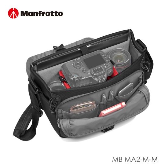 圖片 Manfrotto 郵差包 專業級II Advanced2 Messenger M MB MA2-M-M