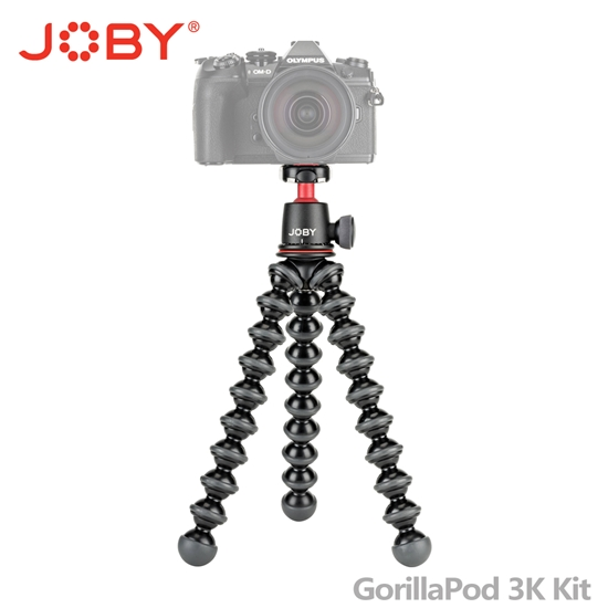 圖片 JOBY 金剛爪 3K套組腳架 (JB51) GorillaPod 3K Kit