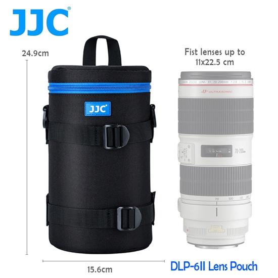 圖片 JJC DLP-6 二代 豪華便利鏡頭袋 135x240mm