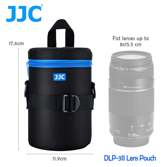 圖片 JJC DLP-3 二代 豪華便利鏡頭袋 80x170mm