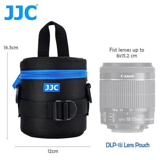圖片 JJC DLP-1 二代 豪華便利鏡頭袋 78x125mm