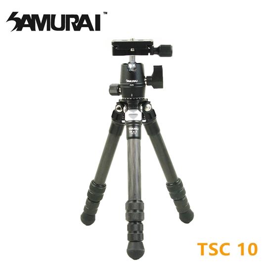 圖片 SAMURAI TSC 10碳纖維小型腳架