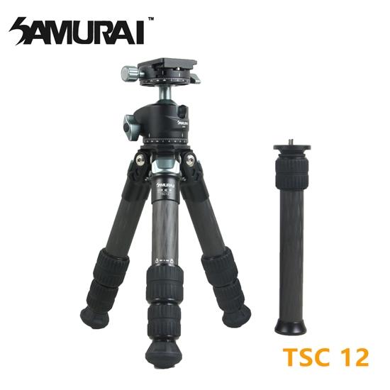 圖片 SAMURAI TSC 12碳纖維短腳架(腳管25mm)