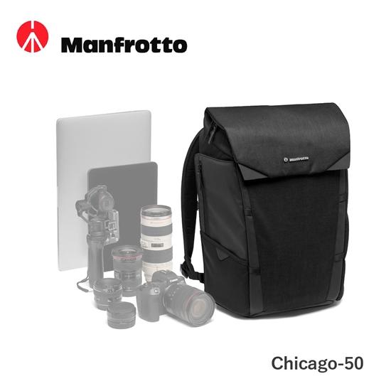 圖片 Manfrotto 雙肩攝影包 50 芝加哥級 Chicago Backpack Medium