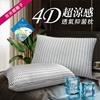 圖片 精靈工廠 奈米銀離子。4D超涼感透氣抑菌枕/四色任選(B0056)