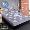 圖片 精靈工廠 日式和風雙絲光。冰絲涼蓆-四款任選/單人二件式(B0090-S)