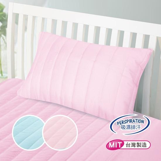 圖片 精靈工廠 專利防潑水抗菌防蹣舒柔鋪棉保潔枕套/二色任選(B0553)