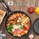 韓國原裝。麥飯石26CM加厚鍋底平底不沾鍋/煎鍋。附木鍋鏟(K0084)