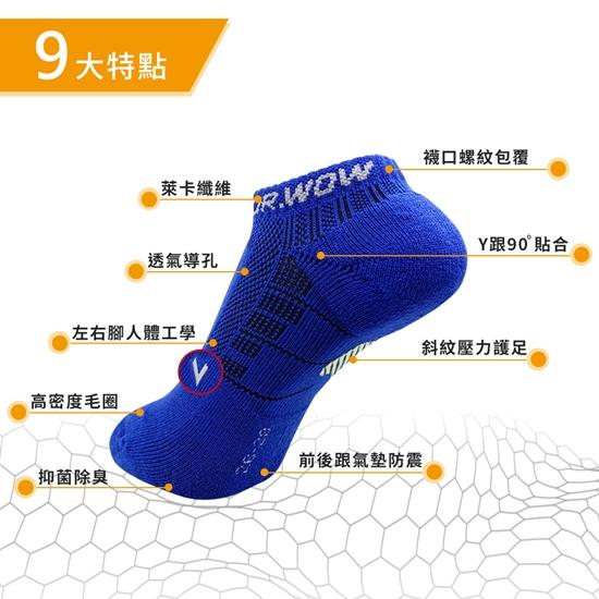 圖片 【DR.WOW】萊卡足弓支撐氣墊襪-女款(6雙入)