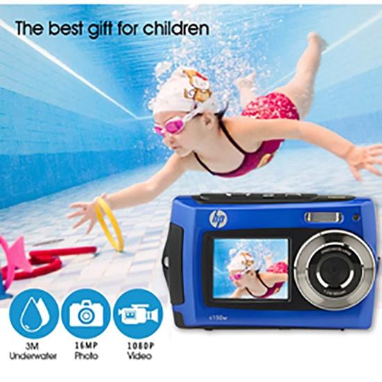圖片 [HP] 惠普防水極限運動海陸雙用攝影機暑夏兒童玩水最佳攝影神器 C150W_旅行必備的動態攝影相機