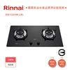 圖片 林內新品 RB-S2630G(B)雙口防漏定時玻璃檯面爐(黑)