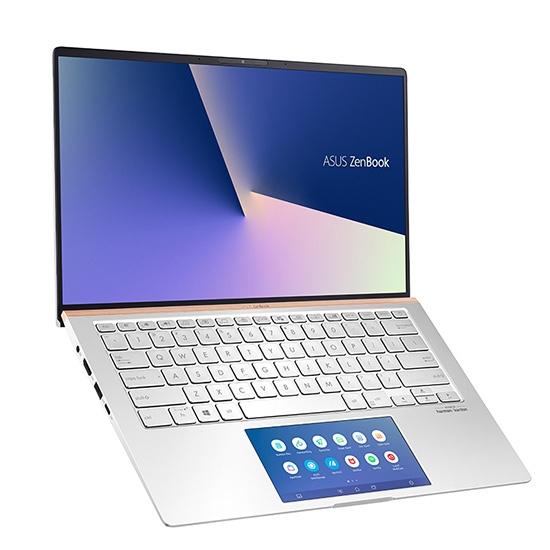 圖片 ASUS 華碩 Zenbook UX434 UX434FLC-0132S10210U i5/8G/14吋/銀 窄邊輕薄筆電