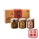 【向記】經典禮盒3入 (吻魚xo醬、香辣小卷、豆豉小魚)-電