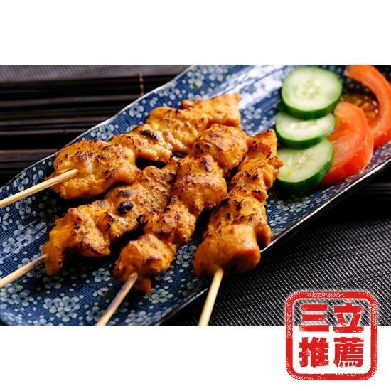 圖片 馬來西亞風味_黃金沙爹燒烤肉串-電