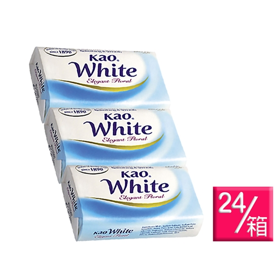 圖片 【Kao 花王】White 優雅花香/清新花香 香皂 130g 72入 箱購