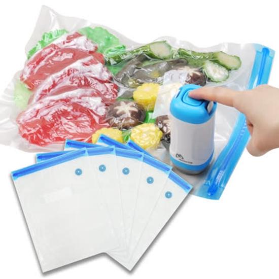 圖片 摩肯Dr.Save 食品真空保鮮袋大(L)(10入/組)