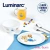 圖片 【Luminarc 樂美雅】3件式兒童餐具組_小鯨魚