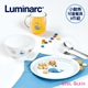 【Luminarc 樂美雅】3件式兒童餐具組_小鯨魚