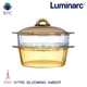 【Luminarc 樂美雅】Blooming 3.25L微晶透明鍋+透明玻璃蒸籠