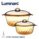 【Luminarc 樂美雅】Trianon 微晶透明鍋具組(2.5L+3.8L)