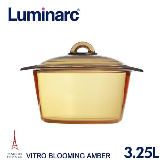 圖片 【Luminarc 樂美雅】Blooming 3.25L微晶透明鍋(ARC-B32)