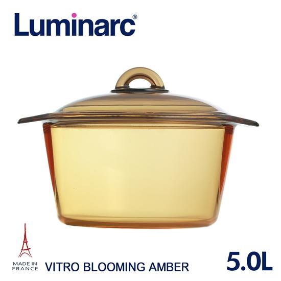 圖片 【Luminarc 樂美雅】Blooming 5.0L微晶透明鍋(ARC-B50)