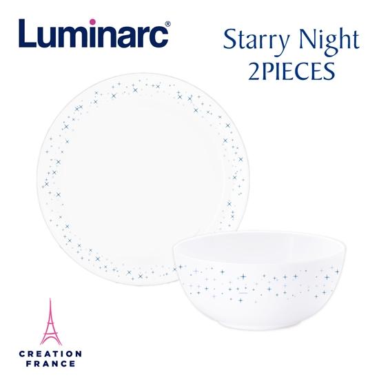 圖片 【Luminarc 樂美雅】璀璨星空2件式餐具組(ARC-201-SN)