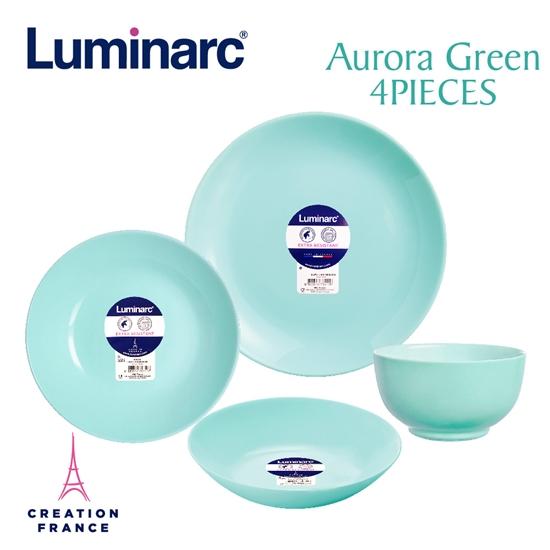 圖片 【Luminarc 樂美雅】蒂芬妮藍4件式餐具組(ARC-401-LG)