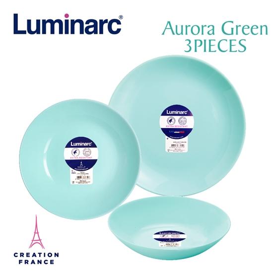 圖片 【Luminarc 樂美雅】蒂芬妮藍3件式餐具組(ARC-302-LG)