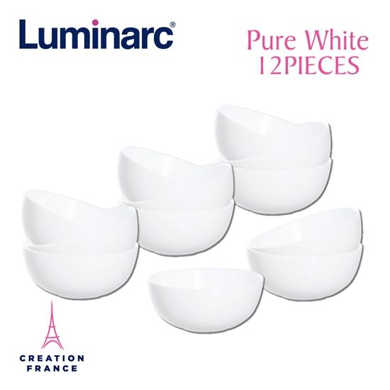 圖片 【Luminarc 樂美雅】純白12件式餐具組(ARC-1201-DW)