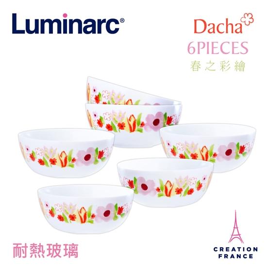 圖片 【Luminarc 樂美雅】春之彩繪6入餐碗組(ARC-612-DCH)