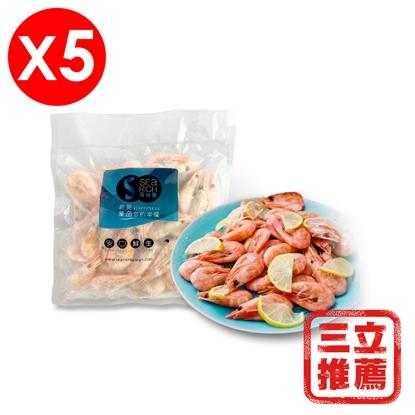 【匯永】挪威甜蝦五包組-電