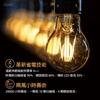 圖片 5入量販包【LUXTEK】可調光 4.5W  黃光 E27 透明球泡 LED燈絲燈泡 取代 螺旋燈泡