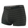 圖片 台灣製造 男用細纖維透氣內褲 黑條紋 貼身四角褲 一片式剪裁 無摩擦 (3入)